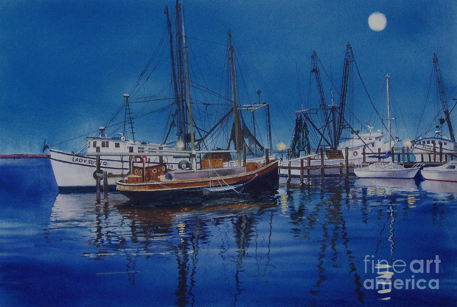 Fishmoon Painting
