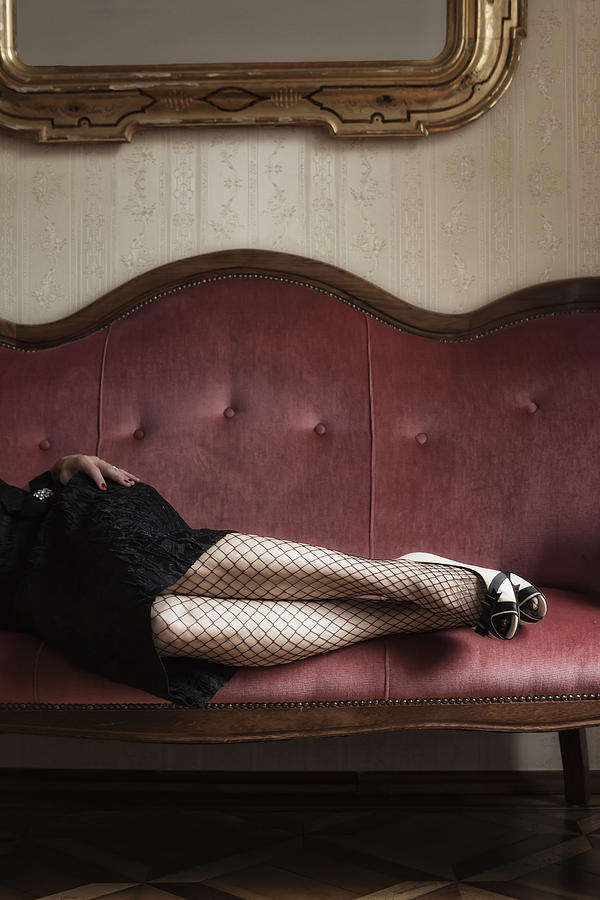 Fishnet Tights Photograph
