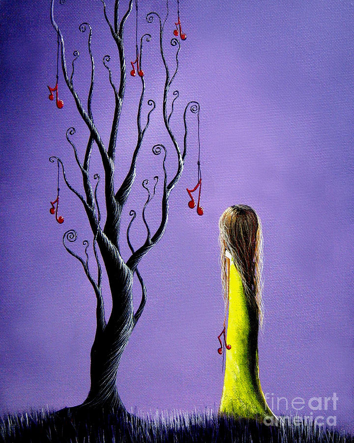 Five Wishes Left By Shawna Erback Painting
