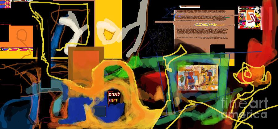Digital Art - Fixing Space 1l by David Baruch Wolk