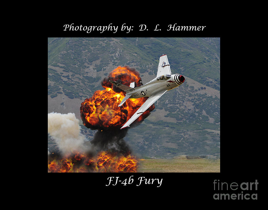 Fj-4b Fury Photograph