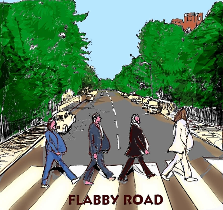 Flabby Road Drawing
