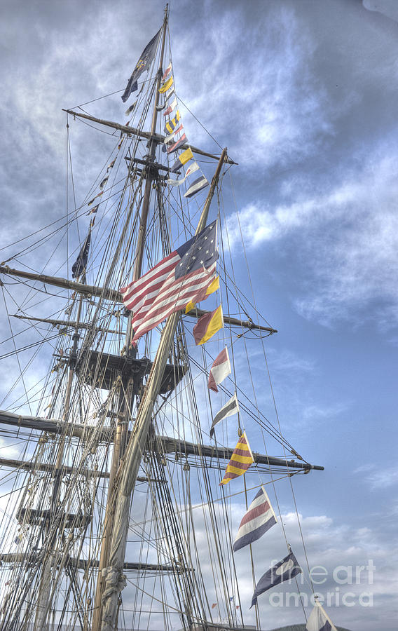 Tall Ships Photograph - Flagship Niagara by David Bearden