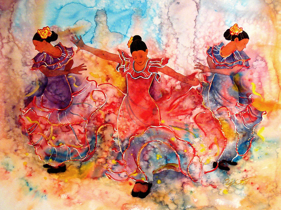 Flamenco Painting  - Flamenco Fine Art Print