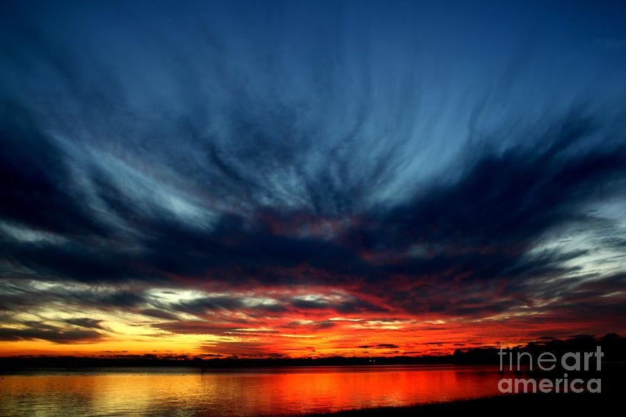 Flaming Hues Photograph  - Flaming Hues Fine Art Print