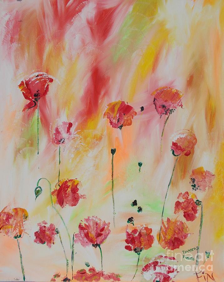 Flanders Field Painting