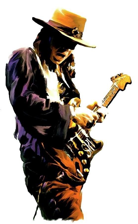 Flash Point     Stevie Ray Vaughan Painting