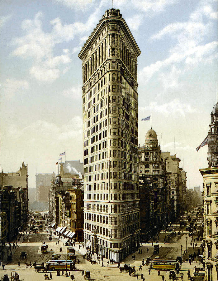 Flat Iron Building New York 1903 Photograph