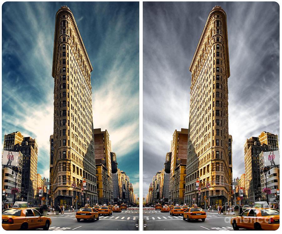 Flatiron District Photograph - Flatiron Building  by AHcreatrix