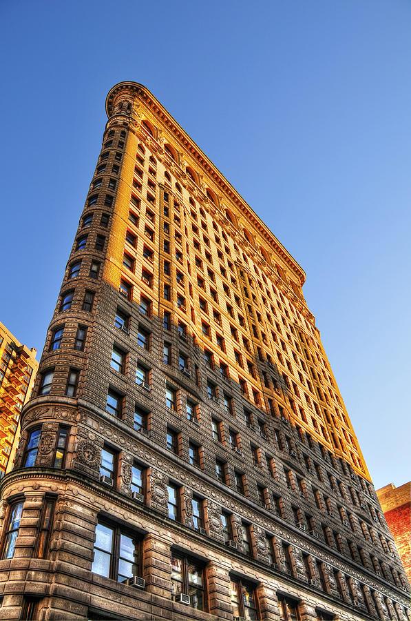 Flatiron Building Photograph - Flatiron Building Profile Too by Randy Aveille
