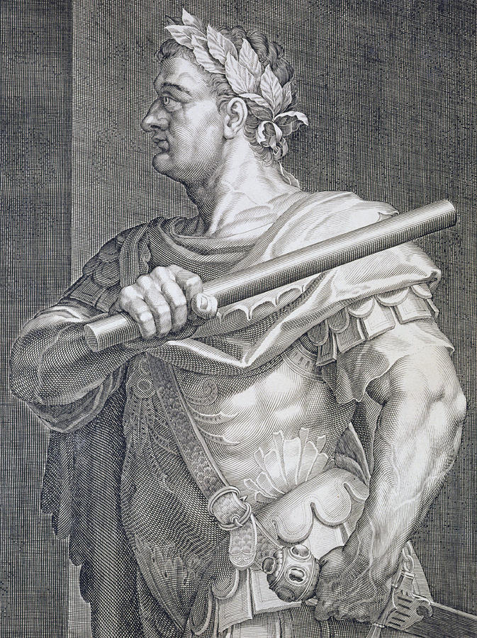Flavius Domitian Painting