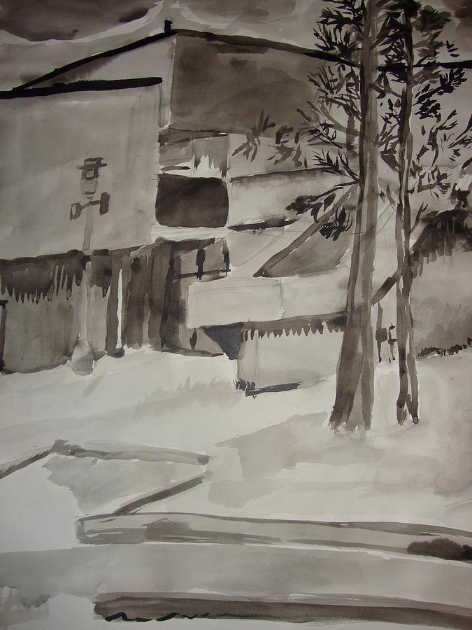 Fletcher Hall Drawing