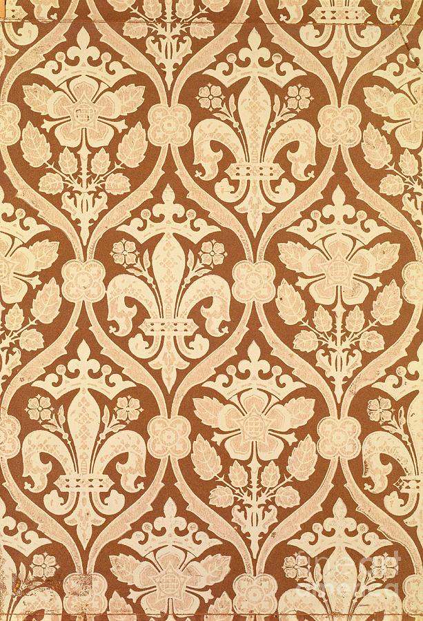 Fleur-de-lis Tapestry - Textile
