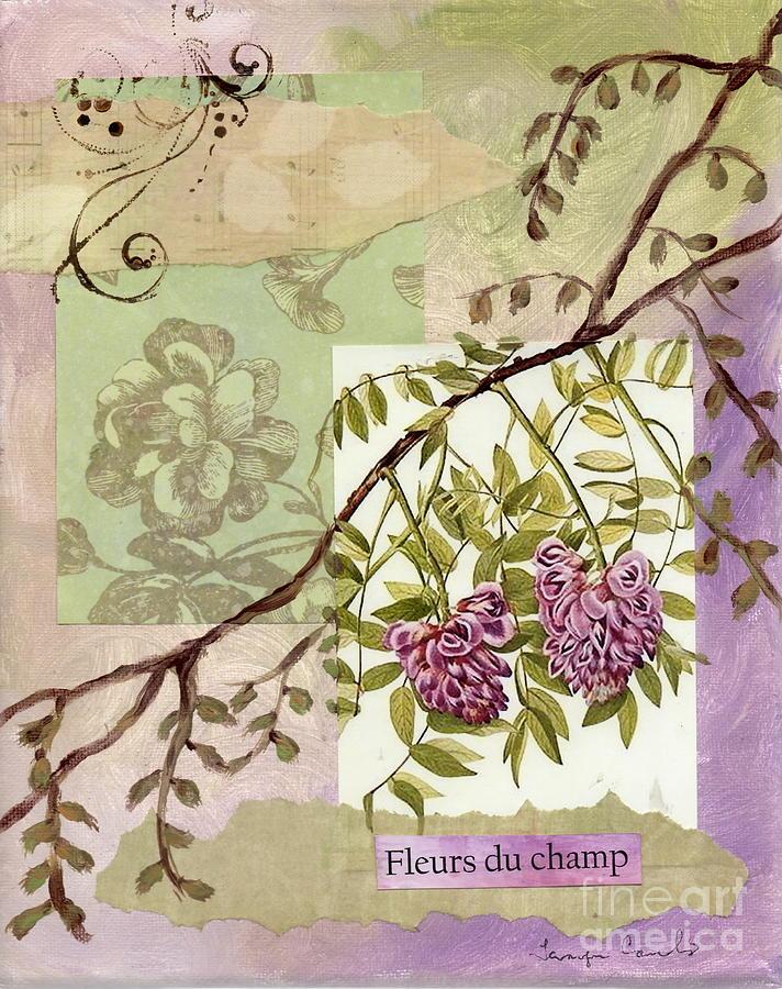 Fleurs Du Champ Painting