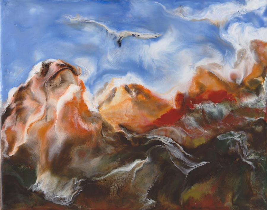 Flight Of The Condor Painting  - Flight Of The Condor Fine Art Print