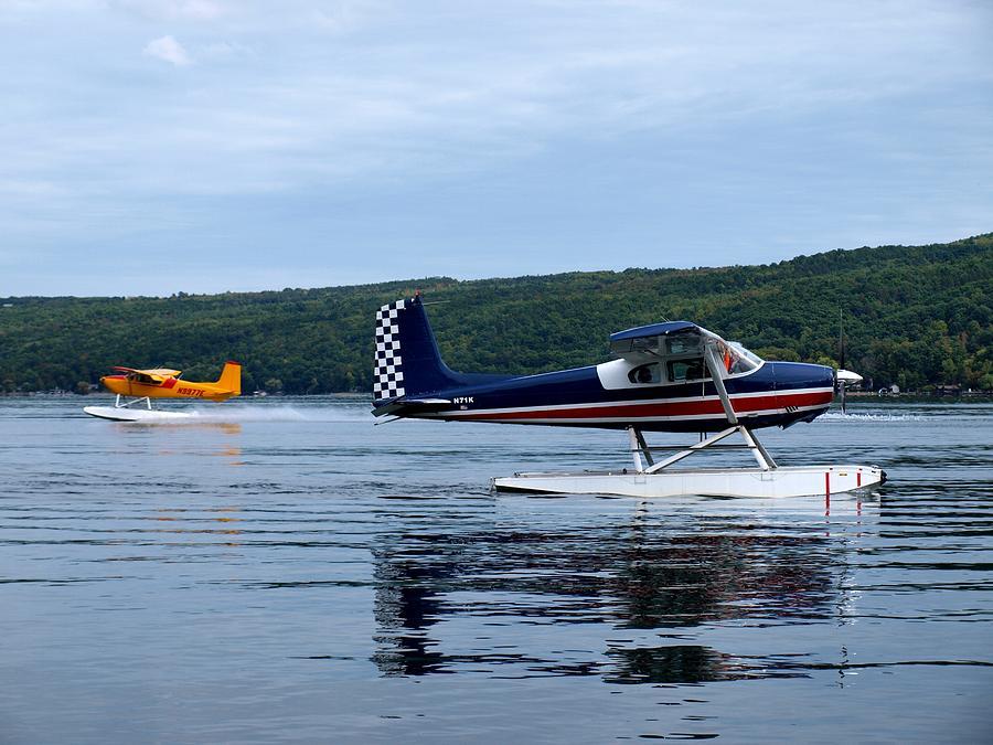 Float Planes On Keuka Photograph