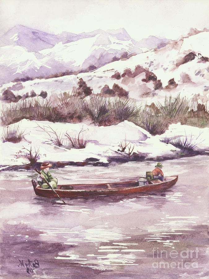 Float Trip Painting