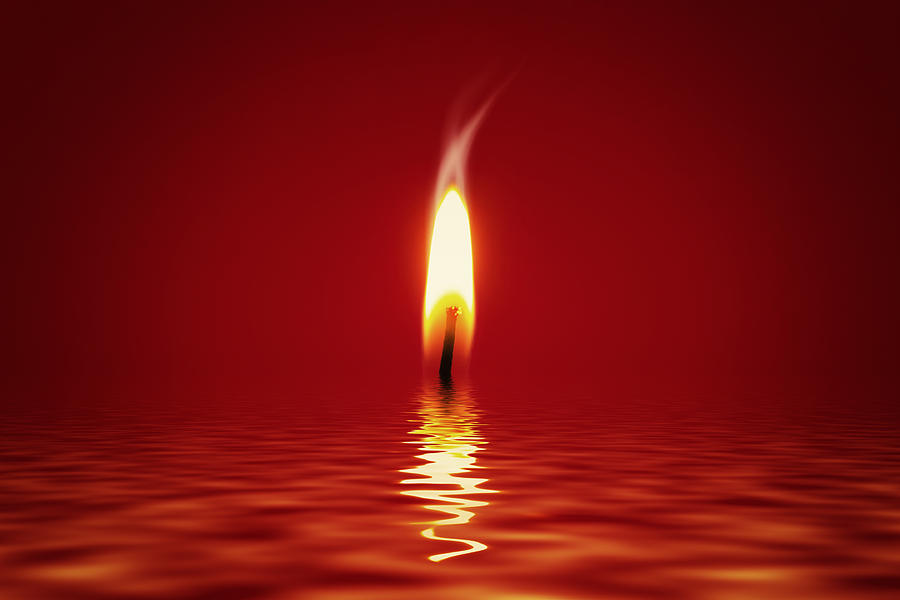 Floating Candlelight Photograph