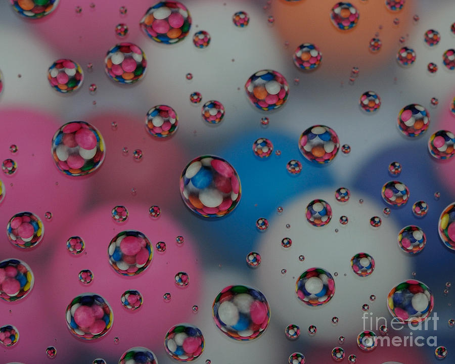 Floating Gum Balls Photograph  - Floating Gum Balls Fine Art Print