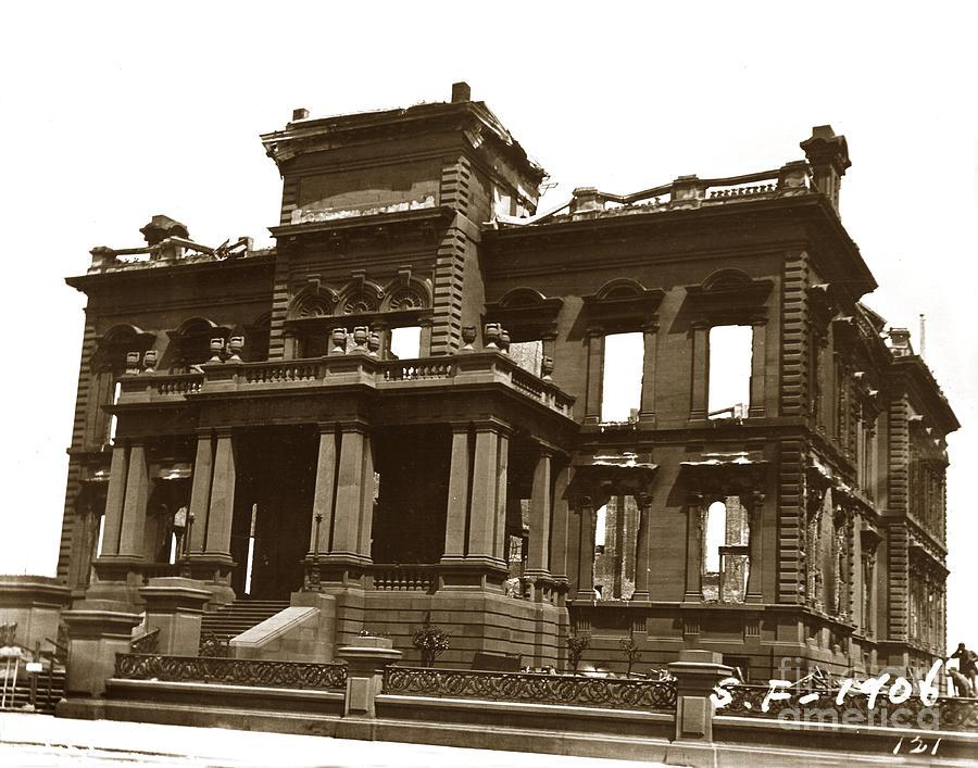 James clair flood mansion atop nob hill san francisco for San francisco mansion tour