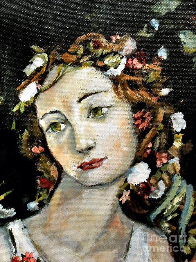 Flora Detail Painting