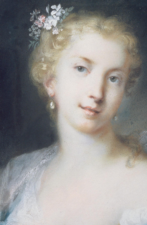 Flora Painting - Flora by Rosalba Giovanna Carriera
