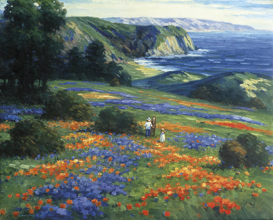 Floral Doman Painting