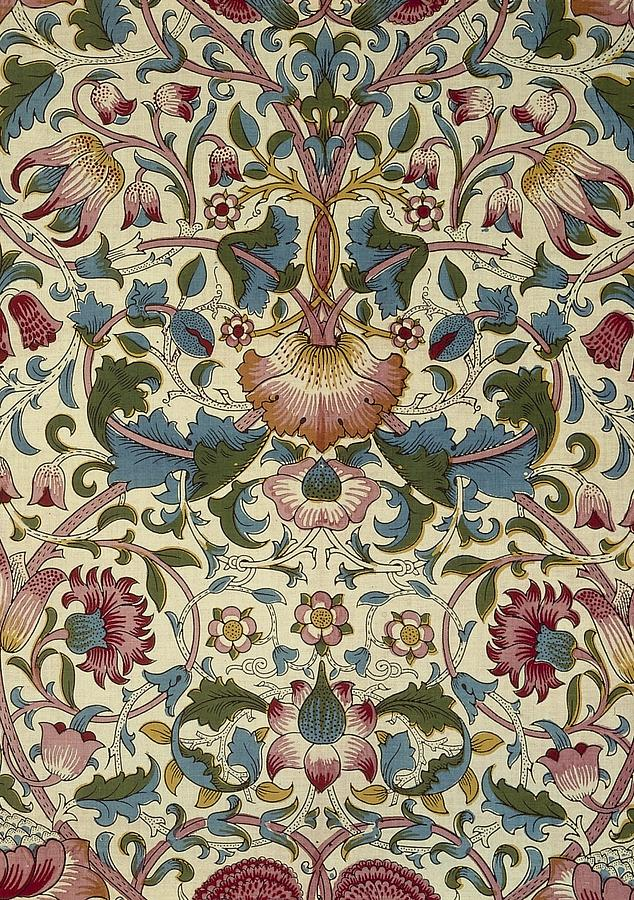 William Tapestry - Textile - Floral Pattern by William Morris