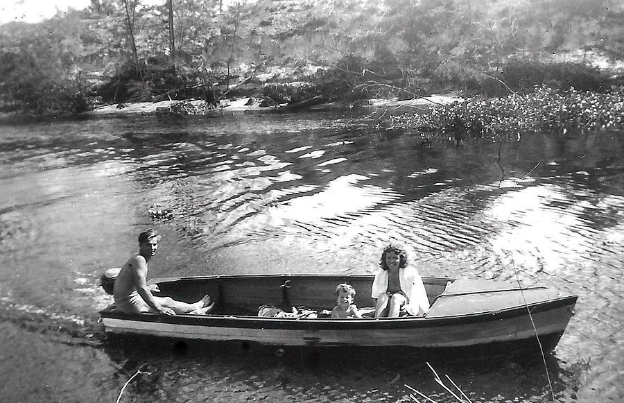 Family Photograph - Florida 1945 by Christy Usilton