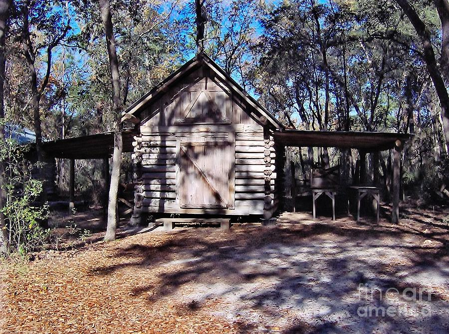 Florida Cracker Wood Shed Photograph  - Florida Cracker Wood Shed Fine Art Print