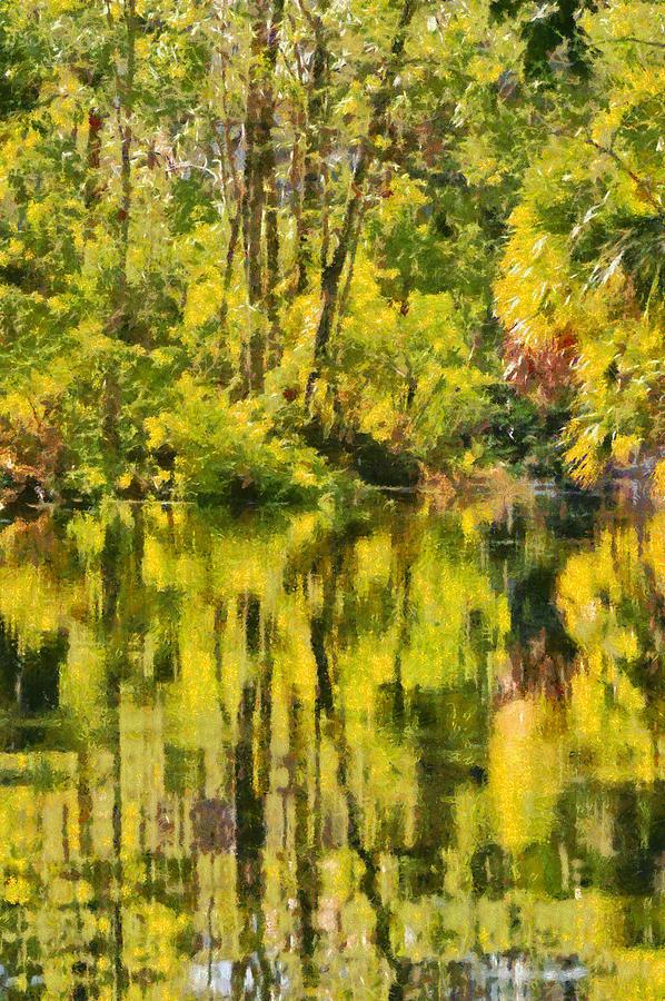 Florida Jungle Painting