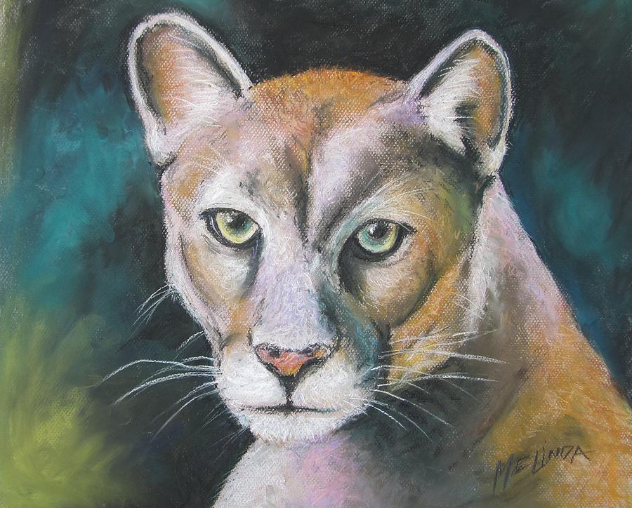 Florida Panther Painting