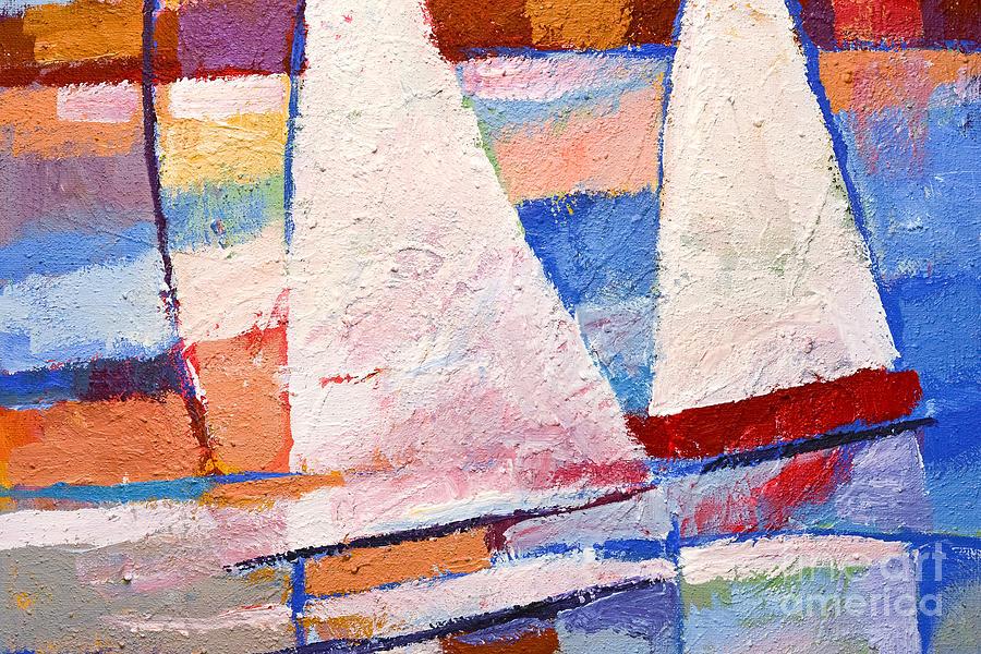 Flow Painting - Flow Impasto by Lutz Baar
