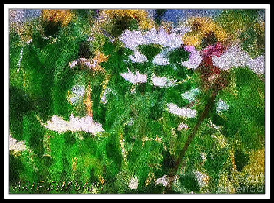 Digital Art - Flower From Galica 08d by Arif Zenun Shabani
