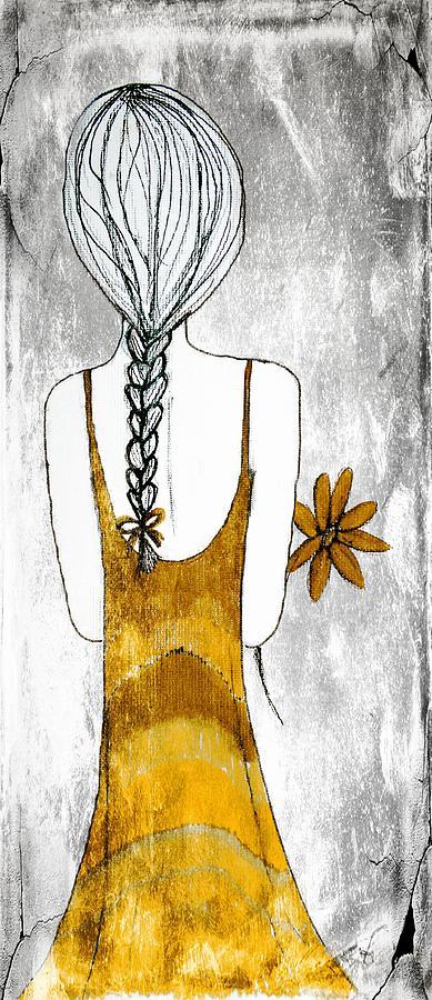 Flower Girl 2 Painting