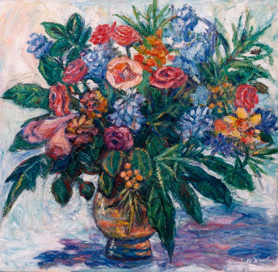 Flowers Painting - Flower Life by Kendall Kessler