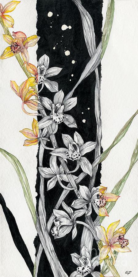 Flower Orchid 07 Elena Yakubovich Painting