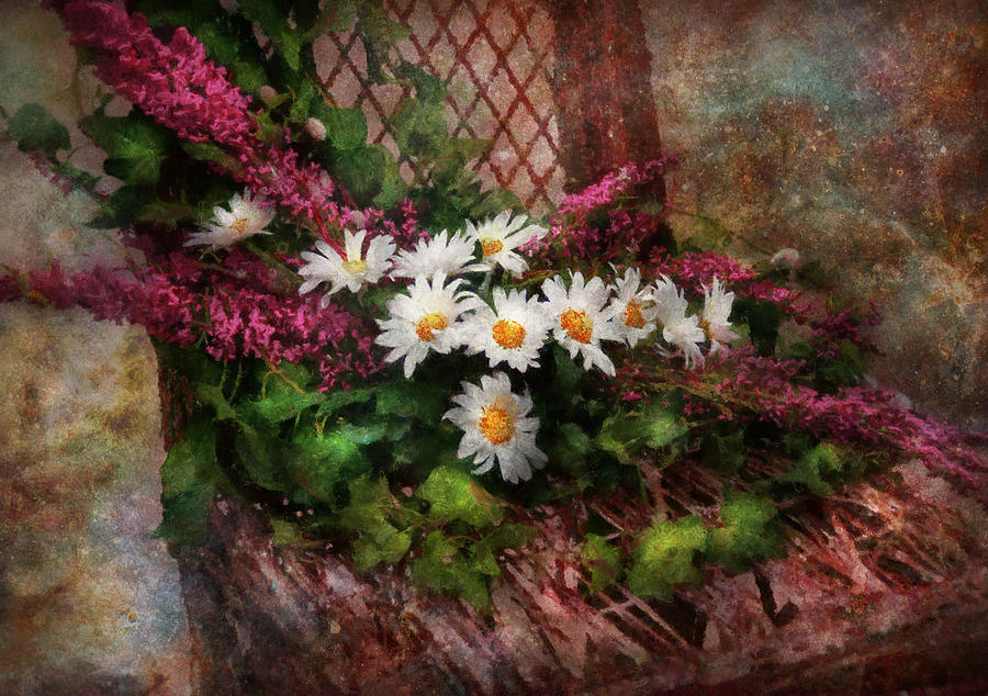 Flower - Still - Seat Reserved Digital Art