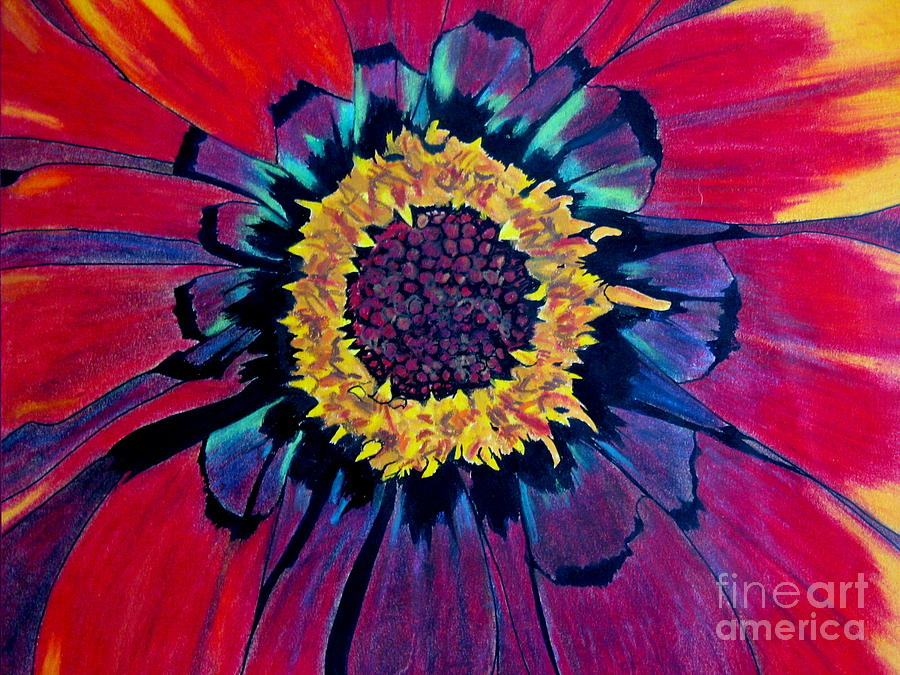 Flowerburst Pastel  - Flowerburst Fine Art Print