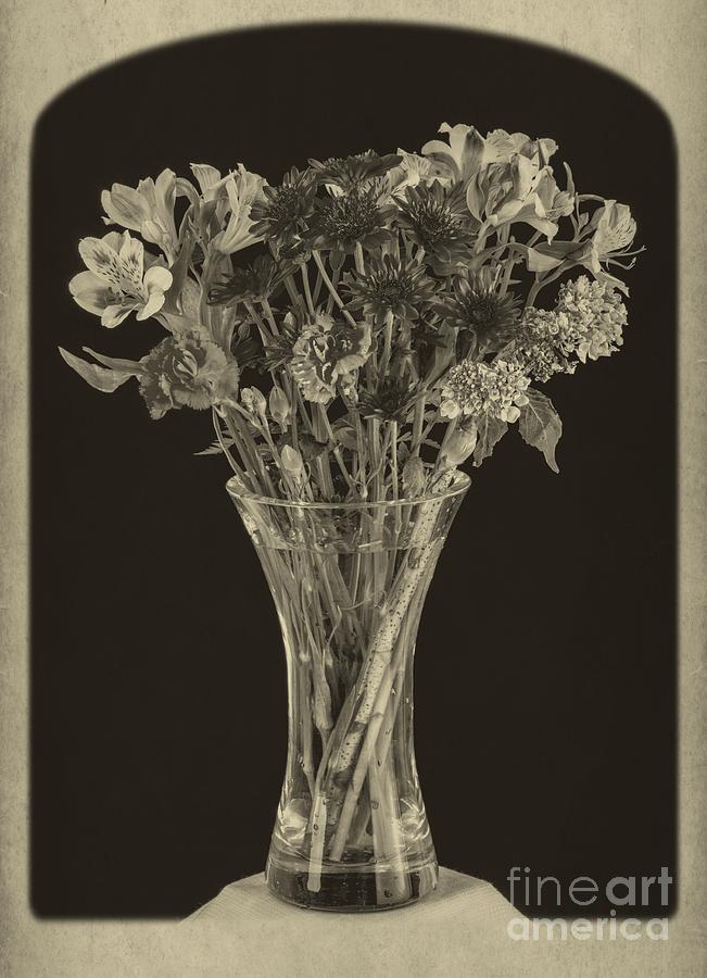Flowers 1860s Photograph
