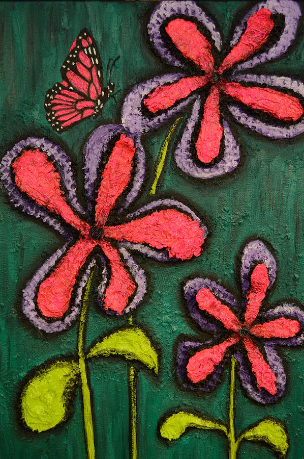 Flowers Painting - Flowers 4 Sydney by Shawn Marlow