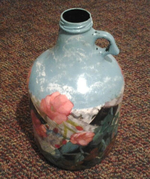 Flowers Glass Art
