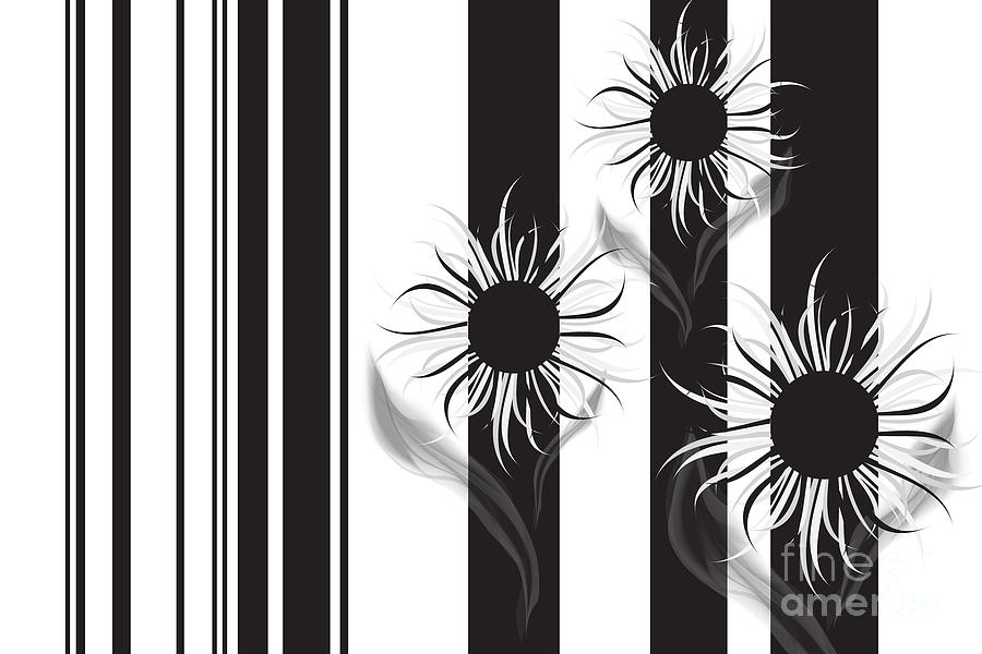 Flowers For You Digital Art  - Flowers For You Fine Art Print