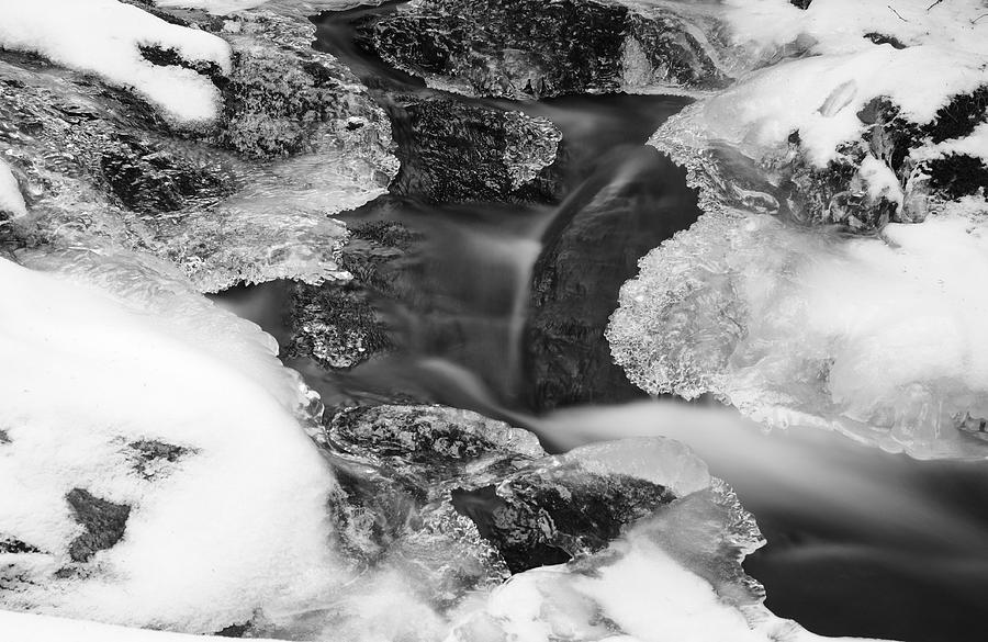 Flowing Frigid Photograph