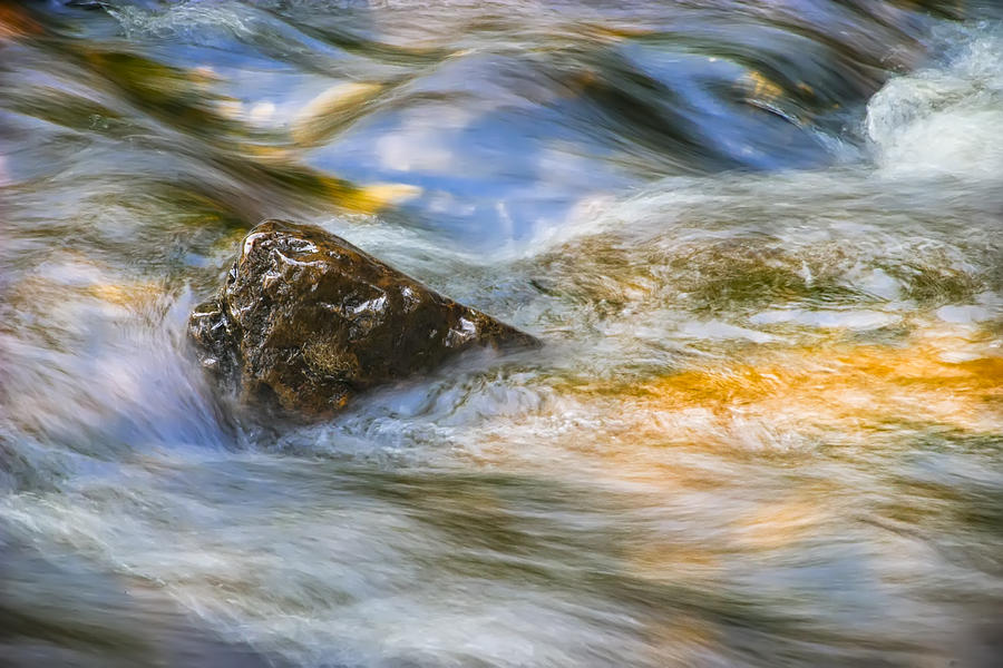 Flowing Water Photograph