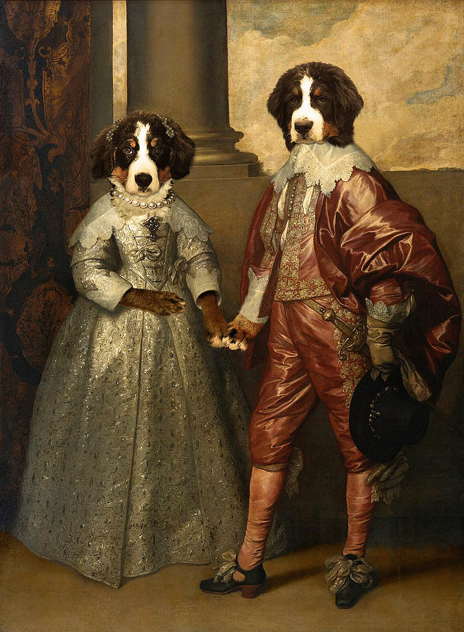Floyd Of Orange And Lottie Stuart Digital Art  - Floyd Of Orange And Lottie Stuart Fine Art Print