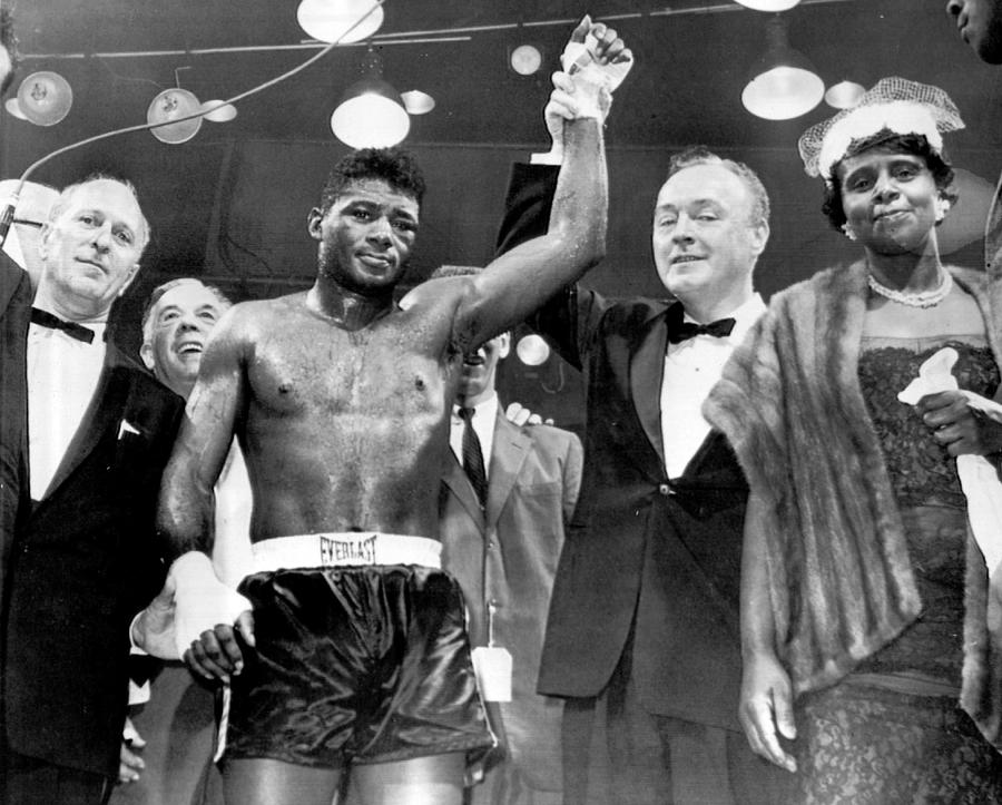 Floyd Patterson After Win Photograph