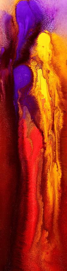 Fluid Art Summertime Vibe By Kredart Painting