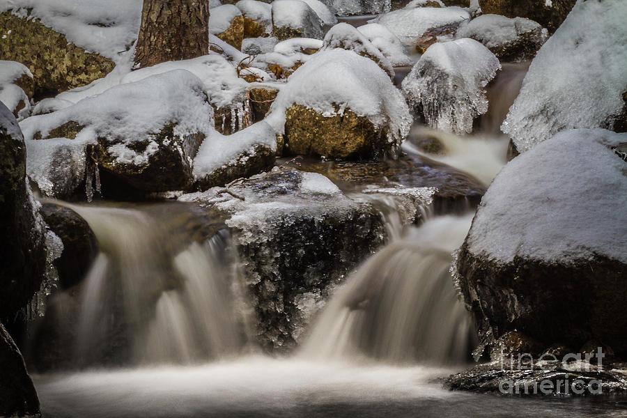 Fluid Ice Photograph