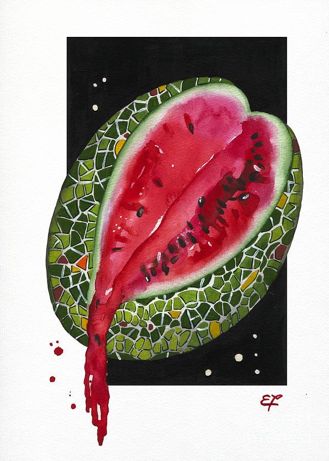 Fluidity 9 - Elena Yakubovich Painting